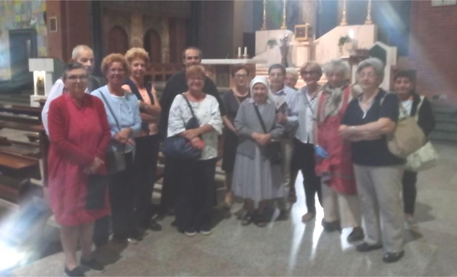 Gruppo Missionario S. Rita Tra le attività, una gradita visita