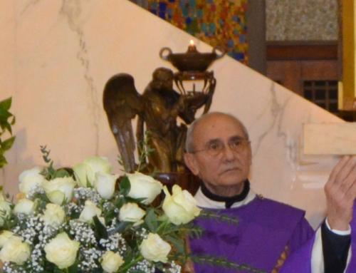 Vincenzo sorride a Dio